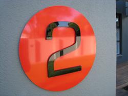 Acrylic Lettering Aluminium Composite Sign