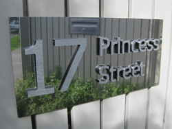 3D Lettering House Sign