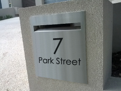 Custom Letterbox Faceplates Melbourne Sydney