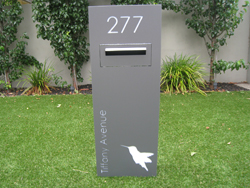 Free Standing Letterboxes Sassysigns